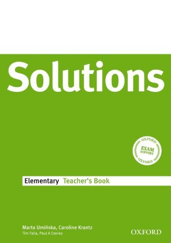 Solutions Elementary: Teacher's Book by Tim Falla (2008-07-17)