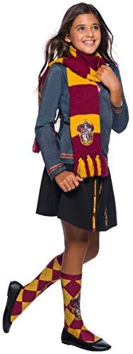 31O4XPmA6qL - Harry Potter Deluxe Bufanda Gryffindor, Multicolor, (Rubie'S 39033)
