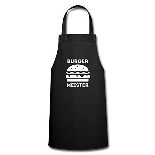 Spreadshirt Grillen Burger Meister Hamburger BBQ Kochschürze