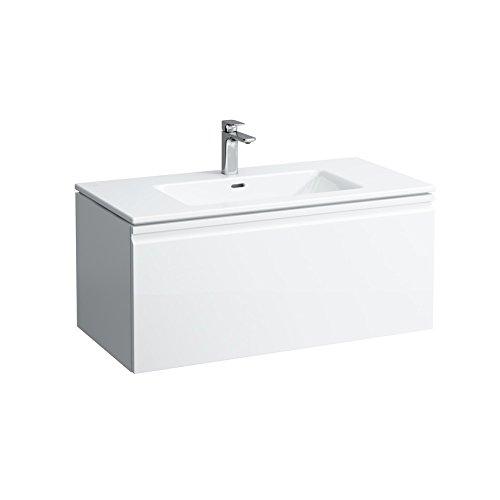 Preisvergleich Produktbild Laufen Waschtisch PRO S mit Unterbau 1 Lade 600x500 weiß/weiß glänzend, 8609614641041