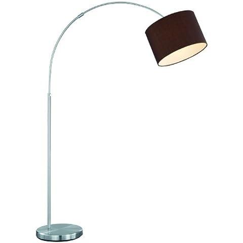 Trio Serie 4611 - Lámpara de pie, exPlafón, E27, 60 W, color marrón