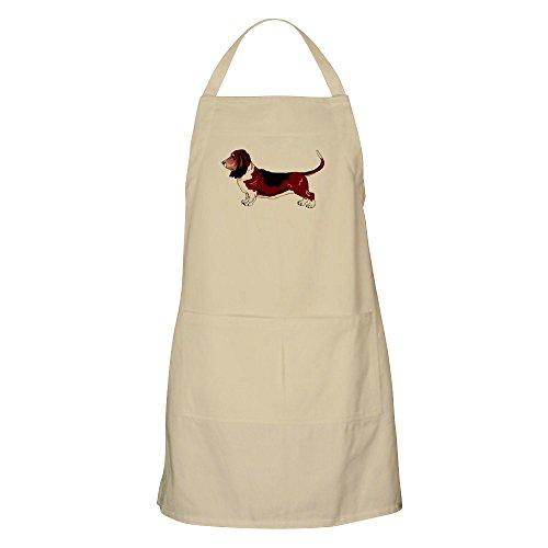 CafePress–Basset Hound Pflege Schürze–Küche Schürze mit Taschen, Grillen Schürze, Backen Schürze khaki