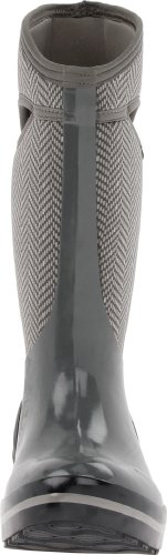 Bogs Herringbone Plimsoll Hi Womens Wellies Gunmetal
