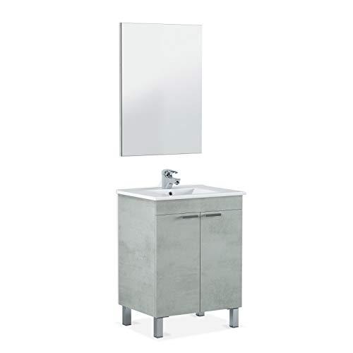 ARKITMOBEL 305310L - Mueble baño LC1 Dos Puertas