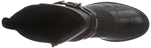Rieker Z6899-01, Bottes Classiques femme Noir