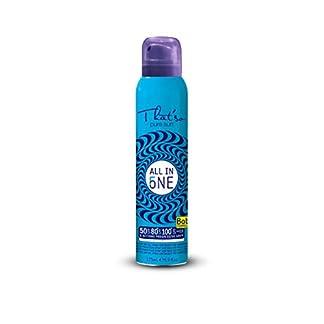 That´So All In One – Spray Protector Continuo de Aceite Seco para Piel Sensible SPF 50/80/100+, 175 ml