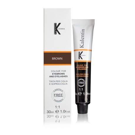 Kit lashes tinta sopracciglia e ciglia professionale senza ammoniaca e senza parabeni catano brown tubo 30ml + emulsione ossidante attivatore 30ml