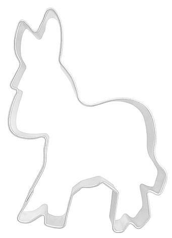 Ausstechform Esel, gross, 7cm