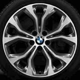 Original BMW Alufelge X6 F16 Y-Speiche 451 in 20 Zoll