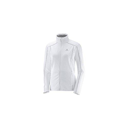 Salomon Discovery FZ W Jacke, Damen Weiß (White)