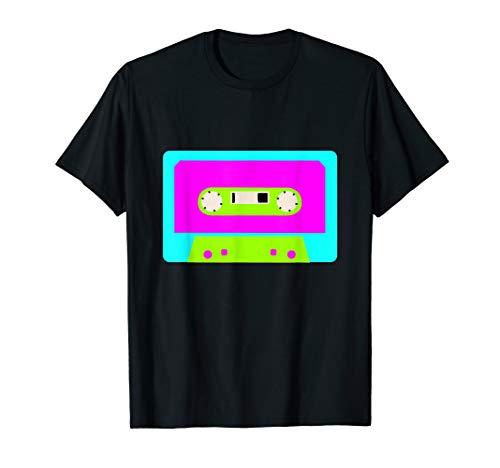 Vintage Retro Tape Kassette Shirt 80er 90er Jahre Party