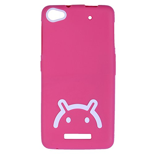 iCandy Soft TPU Back Cover For Micromax Canvas 4 Plus A315 - Pink  available at amazon for Rs.115