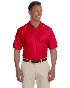 Men's Dri-Fast� Advantage� Solid Mesh Polo RED 4XL (Mesh-shirt Solid)