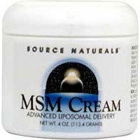 Source Naturals MSM Joint Response Cream by Source Naturals