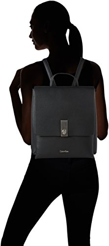 Calvin Klein Carri3 Backpack, Sac Femme, 35x13x31 cm Noir (Black)