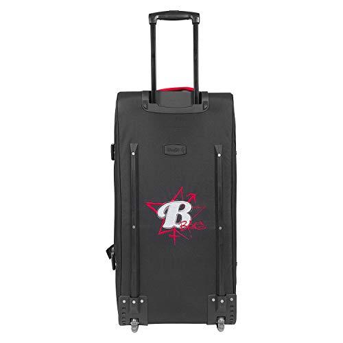 BoGi Bag Unisex– Erwachsene Reistrolley 110 Liter-Rot/Schwarz Reisetasche 85 cm - 3