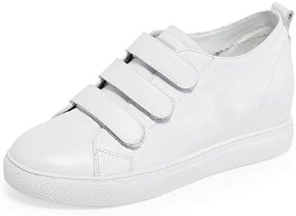 QQWWEERRTT Moda Verano Cuero Zapatos Altos Mujer Moda Plataforma Grueso Fondo Blanco Zapatos Mujeres Otoño Zapatos...