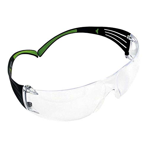 3M SecureFit Schutzbrille SF401AF, klar - Arbeitsschutzbrille mit Anti-Fog- & Anti-Scratch-Beschichtung - Wirkungsvoller UV-Schutz