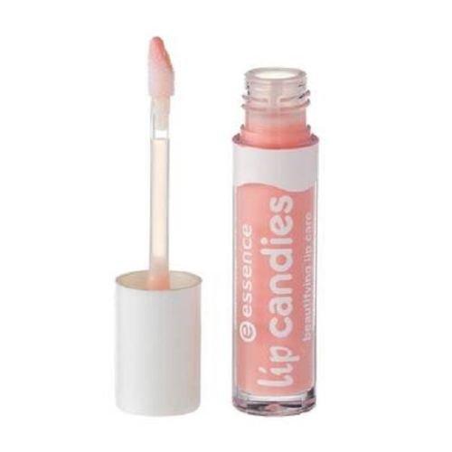 Essence Lip Candies beautifying lip care, Gloss à lèvres enrichi en aloe vera pour des lèvres douces et brillantes de couleur n°06 Cotton candy, 4 ml, 0.13 fl.oz