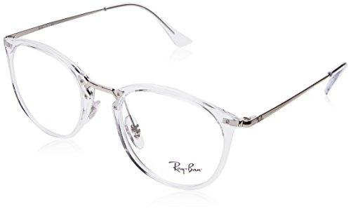 Ray-Ban Unisex-Erwachsene 0RX 7140 2001 49 Brillengestelle, Transparent