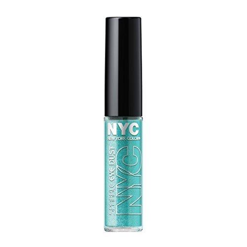 N.Y.C. New York Color Sparkle Eye Dust, Aquamarine Sparkle, 0.105 Ounce by N.Y.C. (Sparkle Eye Dust)
