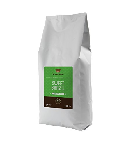 Brown Bear Sweet Brazil Light Medium Whole Bean Coffee 31O5LTi 2TL best coffee maker Best Coffee Maker 31O5LTi 2TL