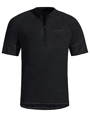 Vaude Herren Men's Bike Sveit Tricot T-Shirt, Black, 56