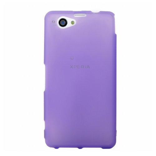 Mocca Design Gel Frost Schutzhülle für Sony XperiaZ1S, Violett