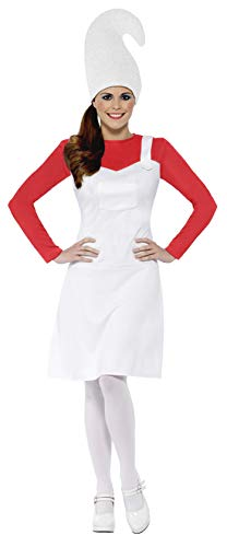 Smiffys 23394S - Gartenzwerg Kostüm weiblicheses Kleid und Hut