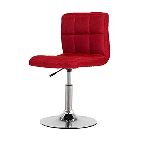 Beauty Hocker Nagel Stuhl Rücken Make-up Lift Drehstuhl-red - Low Back Drehstuhl
