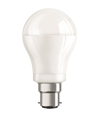Osram Base B22D 14-Watt Classic-A LED Bulb (Frosted Yellow)