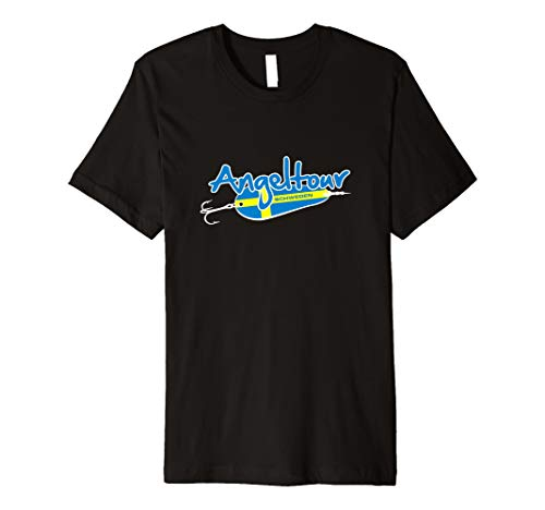 """Angel T-Shirt """" Angeltour Schweden """" Angelshirt für Angler"""