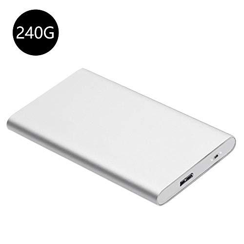 Dubleir SSD, 60GB / 120GB / 240G de Tres capacidades para USB3 0 Interfaz  de Alta Velocidad Cifrado Aleación de Aluminio Disco Duro móvil, Adecuado