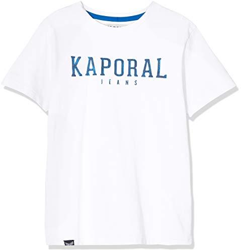 Kaporal Arona, T-Shirt Garçon, Blanc (Blanc Optic White Optwhi), 12 Ans (Taille Fabricant:12 Ans)