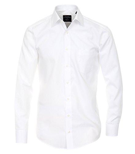 Michaelax-Fashion-Trade Camicia Classiche - Basic - Classico - Maniche Lunghe - Uomo Weiß (0)