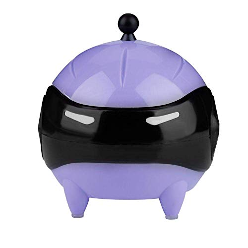 Timagebreze macchina per la pulizia delle lenti un contatto, maschera un sfera per lenti un contatto portatile rondella usb automatica (viola)