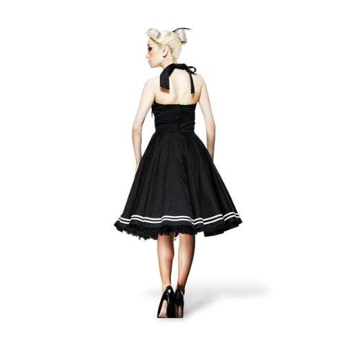 Hell Bunny Kleid MOTLEY 50'S DRESS black Black