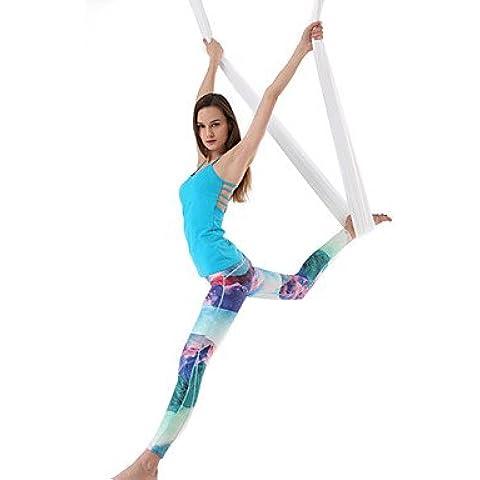 Suministros exteriores pantalones de yoga Body Shaper escena Imprimir Yoga Polaina tobillo ropa deportiva,blue,xl,Yogo