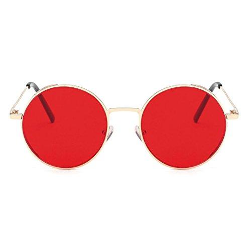 Cloud ROM Frauen Männer Mode Quadrate Metallrahmen Marke Klassische Sonnenbrille Runde Sonnenbrille...