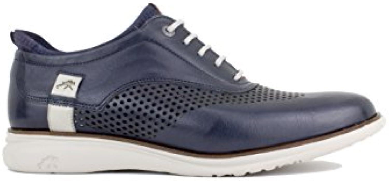 Fluchos - Zapato con Cordones Sport Picado Marino  -
