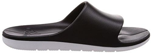 adidas Herren Aqualette CF Dusch-& Badeschuhe Schwarz (Core Black/ftwr White/ftwr White)