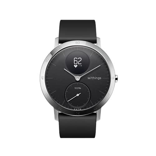 Oferta de Withings Steel HR Reloj Inteligente, Unisex Adult, Negro, 40 mm