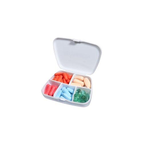 Passform und Fresh Pocket Pille, geteilter Pille Fall, 60Tabletten