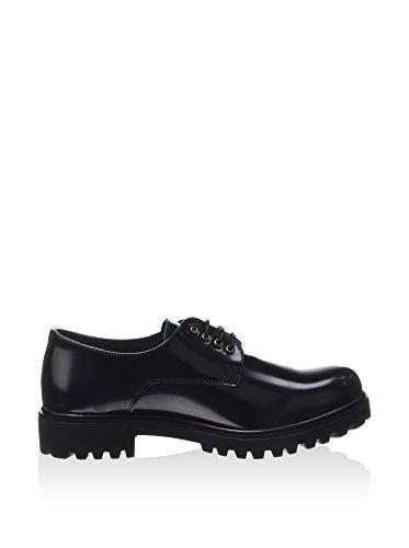Lumberjack SW04204-006 Chaussures à Lacets Femme Noir