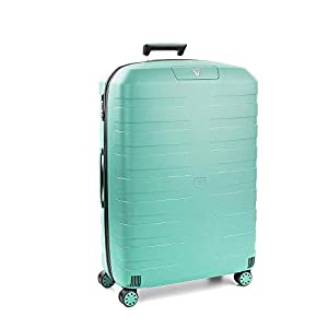 Roncato Maleta Grande L Rigida Box 2.0 – cm. 78 x 50 x 30 Capacidad 118 L, Ligero, Organización Interna, Cierre TSA, Garantìa 10 años