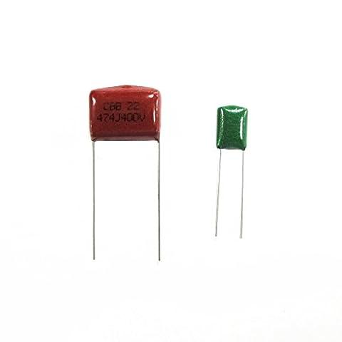 100pcs Condensateur à Film polyester Réglé 10 Valeurs De 103 à -684 Nf Uf