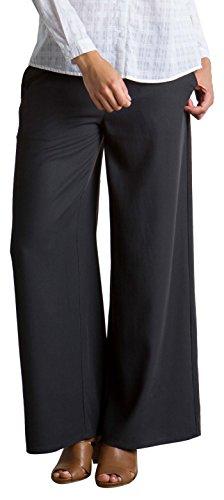 exofficio Damen Basilika wide-leg Hose schwarz