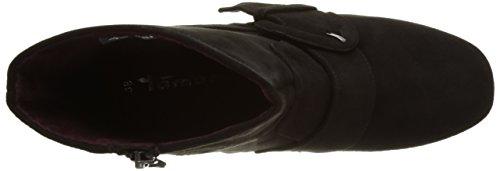 Tamaris Damen 25032 Kurzschaft Stiefel Schwarz (Black 001)