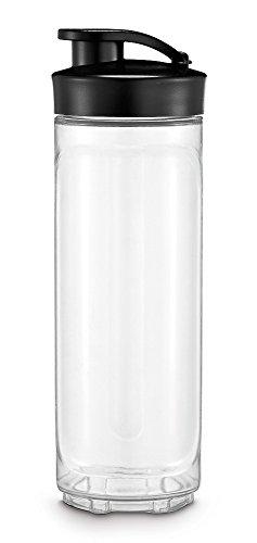 WMF Kult X Mix & Go / Küchenminis Trinkflasche, 600 ml, Mixbehälter, Tritan-Kunststoff, BPA-frei, bruchsicher