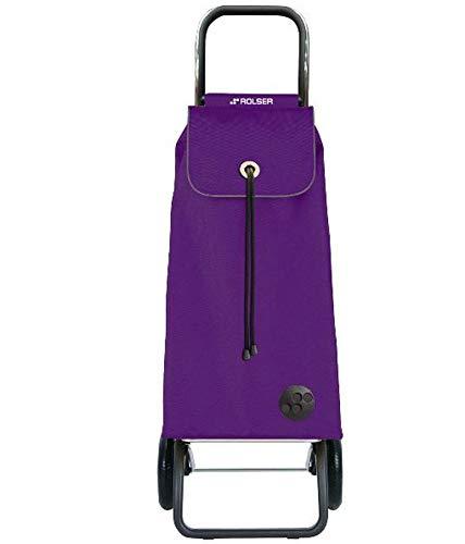 Rolser - imx001more - Poussette de marché 2 roues 43l lilas imax mf convert rg